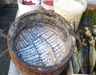 アルジタル シチリアレポート Pescheria 魚市場