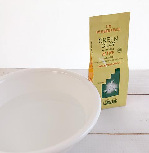 シャワー派の方は必見!全身を癒すグリーンクレイのフットバス